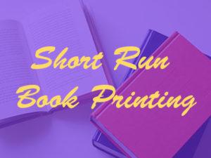 short run book printing wholesale trade bindery