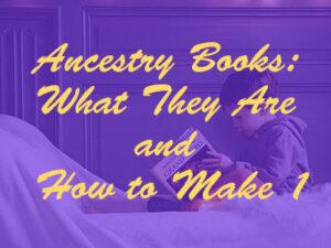 ancestry books genealogy book printing